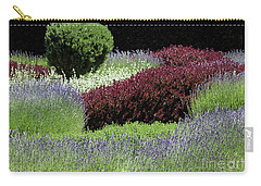 Lavender And Shrub Garden Carry-all Pouch