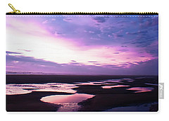 Lavender Beach Sunset Carry-all Pouch