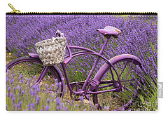 Lavender Bike Carry-all Pouch