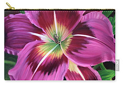 Lavender Daylily Carry-all Pouch