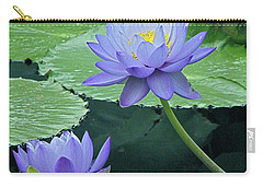 Carry-all Pouch featuring the photograph Lavender Enchantment by Byron Varvarigos