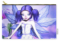 Lavender Fairy Carry-all Pouch
