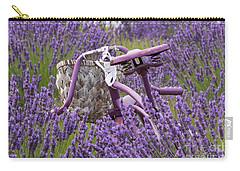 Lavender Farm Bike Carry-all Pouch
