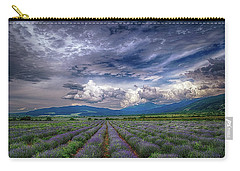 Lavender Field Carry-all Pouch