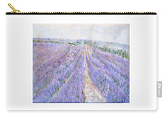 Lavender Fields Provence-france Carry-all Pouch