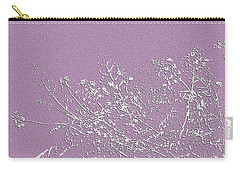 Lavender Floral Carry-all Pouch by Ellen O'Reilly