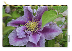 Lavender Flower Carry-all Pouch by James Gay