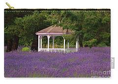 Lavender Gazebo Carry-all Pouch