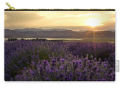 Lavender Glow Carry-all Pouch by Chad Dutson