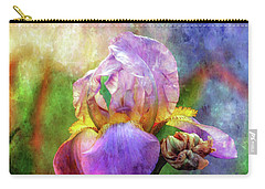 Lavender Iris Impression 0056 Idp_2 Carry-all Pouch