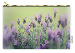 Carry-all Pouch featuring the photograph Lavender by Keith Hawley