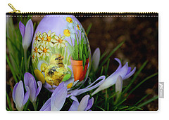 Lavender Loveliness Carry-all Pouch by Living Color Photography Lorraine Lynch