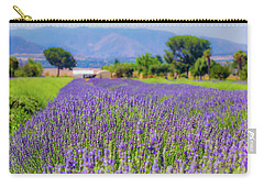 Lavender Carry-all Pouch by Peter Tellone