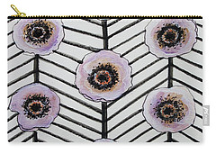 Lavender Poppies Carry-all Pouch