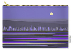 Lavender Reflections Carry-all Pouch by Val Arie