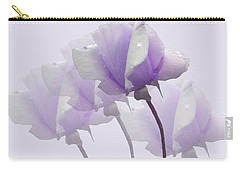Lavender Roses  Carry-all Pouch by Rosalie Scanlon