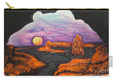 Lavender Sunrise Carry-all Pouch