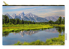 Lavender Teton Peaks  Carry-all Pouch