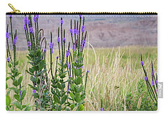 Lavender Verbena And Hills Carry-all Pouch
