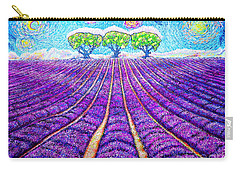 Lavender Carry-all Pouch by Viktor Lazarev