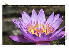 Lavender Water Lily #3 Carry-all Pouch