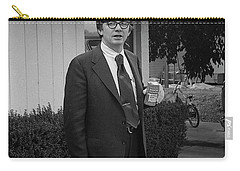 Lawyer With Can Of Tab, 1971 Carry-all Pouch