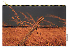 Lay Me Down In Golden Pastures Carry-all Pouch