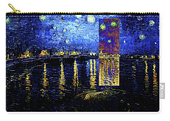 Layered 15 Van Gogh Carry-all Pouch