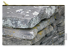 Layered Rock Wall Carry-all Pouch
