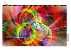 Carry-all Pouch featuring the photograph Layered Swirls by Cathy Donohoue