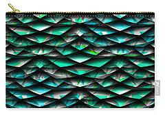 Layers Abstract Carry-all Pouch
