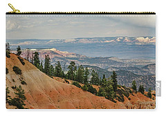 Carry-all Pouch featuring the photograph Layers And Light At Bryce Canyon by Gaelyn Olmsted