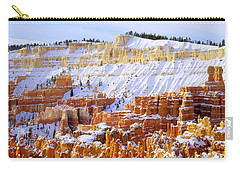 Carry-all Pouch featuring the photograph Layers by Chad Dutson