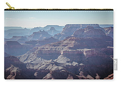 Carry-all Pouch featuring the photograph Layers For Infinity by Margaret Pitcher