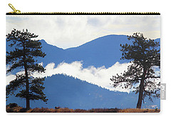 Carry-all Pouch featuring the photograph Layers Of Nature by Shane Bechler