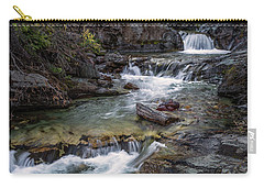 Layers Of Waterfalls Carry-all Pouch