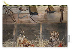 Laying Hens Carry-all Pouch by Kim Henderson