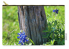 Carry-all Pouch featuring the photograph Lazin' In The Sun by Joan Bertucci