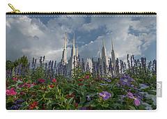 Lds Garden Flowers Carry-all Pouch