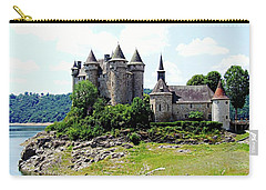 Carry-all Pouch featuring the photograph Le Chateau De Val - France by Joseph Hendrix