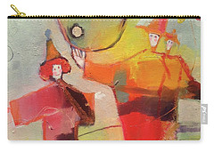 Carry-all Pouch featuring the painting Le Cirque by Michelle Abrams