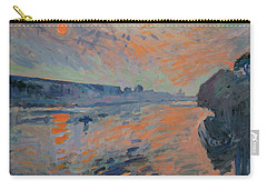 Le Coucher Du Soleil La Meuse Maastricht Carry-all Pouch