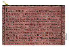 Le Maire Balloon Race Carry-all Pouch