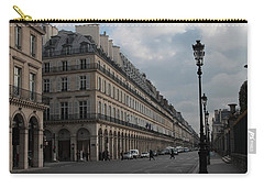 Le Meurice Hotel, Paris Carry-all Pouch by Christopher Kirby