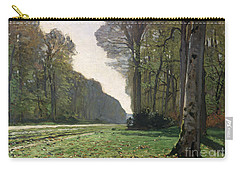 Le Pave De Chailly Carry-all Pouch by Claude Monet