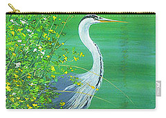 Le Petit Trianon Heron Carry-all Pouch