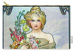 Le Printemps C1895 Carry-all Pouch by Padre Art