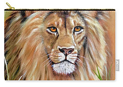 Le Roi-the King, Tribute To Cecil The Lion   Carry-all Pouch