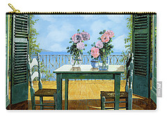 Blue Shutters Carry-All Pouches