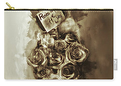 Les Roses De Paris Carry-all Pouch